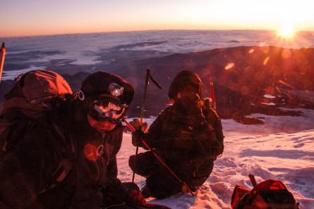 RMH   Mount Elbrus Traverse Route