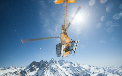 Heli-Skiing in Russia, North Caucasus with Russian Mountain Holidays (RMH)