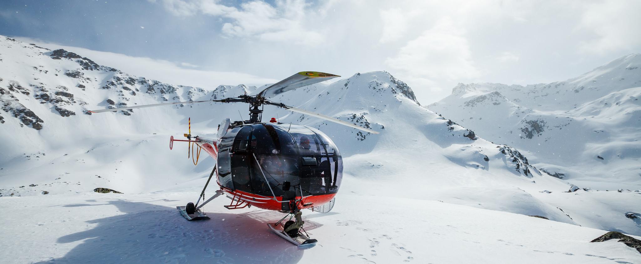 Heli-Skiing in the North Caucasus. Season 2018