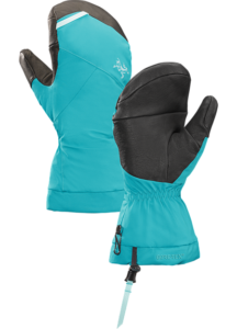 Russian Mountain Holidays | Mount Elbrus Climbing Gear List - Arcteryx Fission Mitten-cerulean