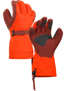 Russian Mountain Holidays | Mount Elbrus Climbing Gear List - Arcteryx Lithic Glove-magmatic