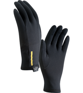 Russian Mountain Holidays | Mount Elbrus Climbing Gear List - Arcteryx Phase Liner Glove-black