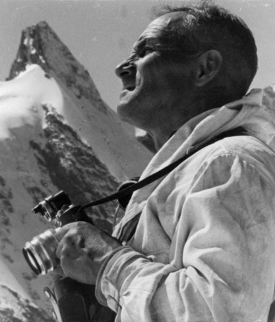 Pal Phil (1906 – 1984) - RMH Elbrus Guides. The Legendary Man. The Legendary Climber | Russian Mountain Holidays (RMH) - Elbrus Guiding History.
