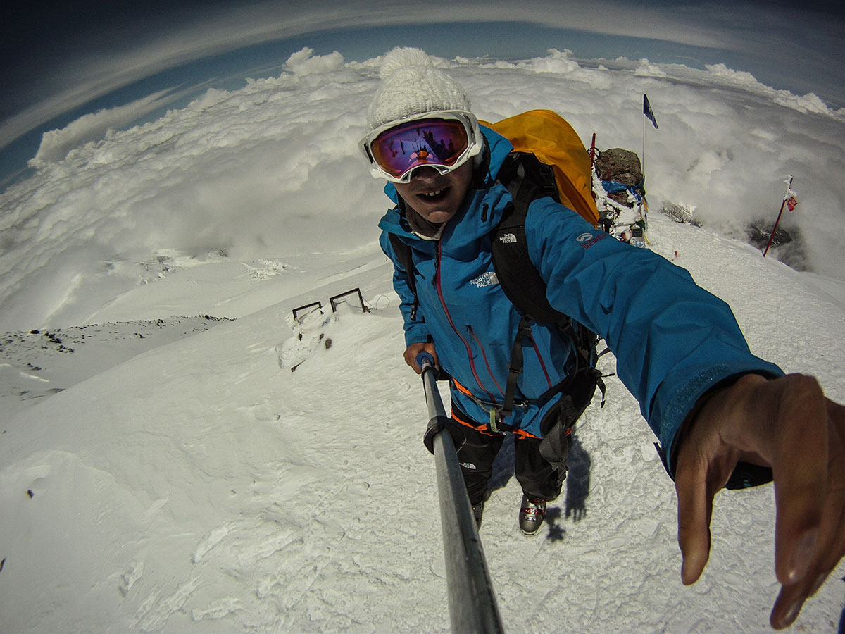 The RMH CEO and Lead Guide - Vitaly Stegno on the Summit of Mt. Elbrus | Russian Mountain Holidays - Elbrus Local Guides (RMH)